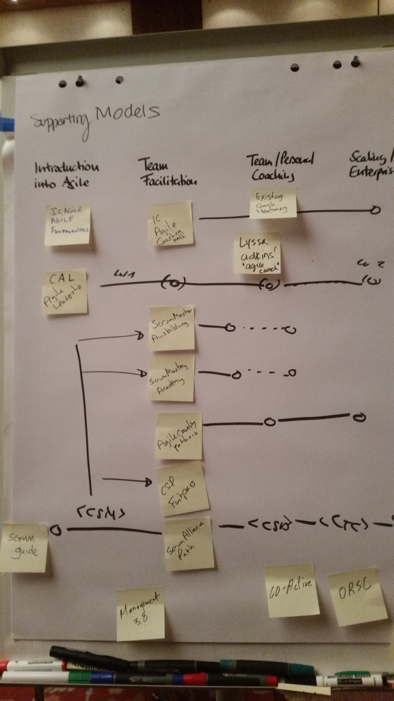 Existing Models for Agile Coach Development Path